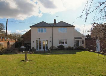Thumbnail 4 bed detached house to rent in High Street, Balsham, Cambridge