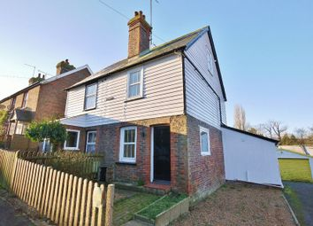 Thumbnail 3 bed semi-detached house for sale in Belgrave, Woodbury Road, Hawkhurst