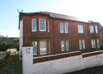 Thumbnail 2 bed flat for sale in Hutcheson Drive, Largs