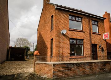 Thumbnail 3 bed detached house for sale in Beech Avenue, Rhosllanerchrugog, Wrexham