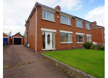 Thumbnail 3 bed semi-detached house for sale in Orby Drive, Belfast