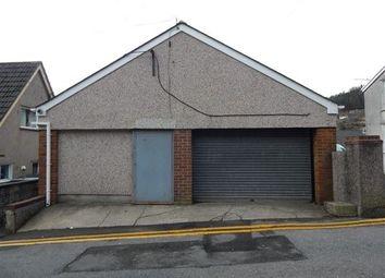 Thumbnail Parking/garage for sale in Garage On Tillery Road, Abertillery