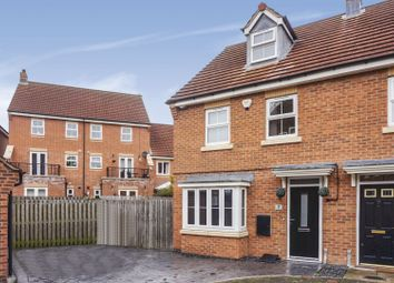 Thumbnail 3 bed semi-detached house for sale in Ebberton Close, Hemsworth, Pontefract