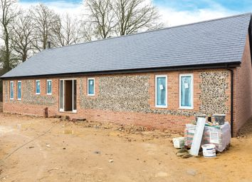 Thumbnail 3 bed detached bungalow for sale in Cambridge Road, Barkway, Royston