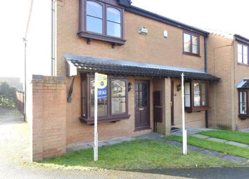 Thumbnail 2 bed end terrace house for sale in Ellesmere Close, Arnold, Nottingham