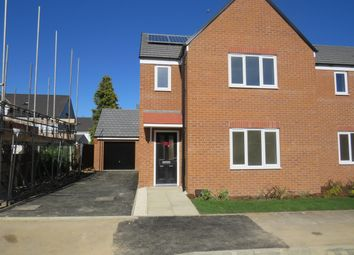 Thumbnail 3 bed property to rent in Buttercream Drive, Woodston, Peterborough