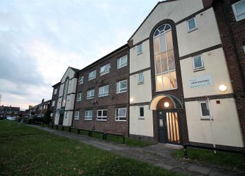 Thumbnail 2 bed flat for sale in Cheriton Road, Urmston, Manchester