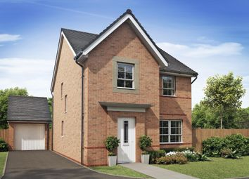 "Thumbnail 4 bedroom detached house for sale in ""Kingsley"" at Llantrisant Road, Capel Llanilltern, Cardiff"