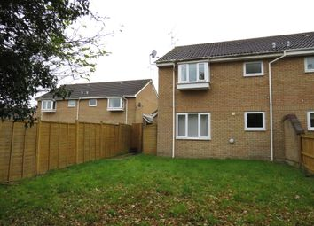 Thumbnail 1 bed end terrace house for sale in Boydell Close, Shaw, Swindon