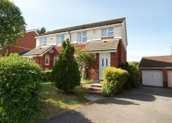 Thumbnail 3 bed semi-detached house for sale in Whitebeam Close, Paignton