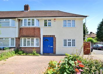 Thumbnail 4 bed end terrace house for sale in Kingshill Avenue, Worcester Park, Surrey