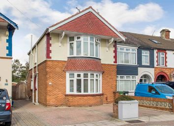 Thumbnail 3 bed end terrace house for sale in Hawthorn Crescent, Cosham, Portsmouth