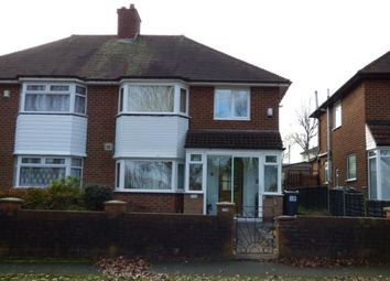 Thumbnail 3 bedroom semi-detached house for sale in Trittiford Road, Birmingham, West Midlands