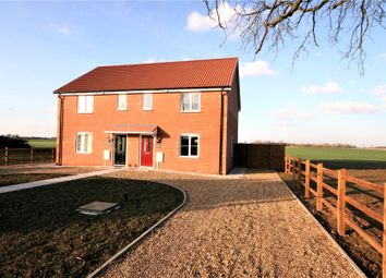 Thumbnail 2 bed semi-detached house for sale in Marsh Road, Holbeach Hurn