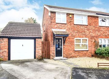Thumbnail 3 bedroom semi-detached house for sale in Baker Close, Clevedon