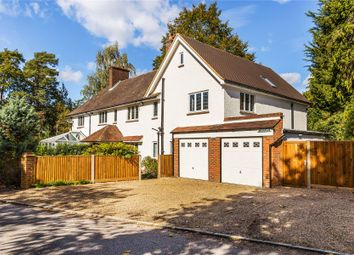 Thumbnail 5 bed detached house for sale in Hook Heath, Woking, Surrey