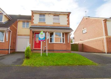 Thumbnail 3 bed end terrace house for sale in Charlock Road, Hamilton, Leicester