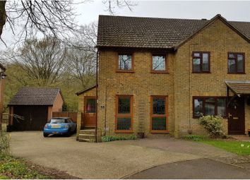 Thumbnail 2 bed end terrace house for sale in Violet Close, Walderslade Woods