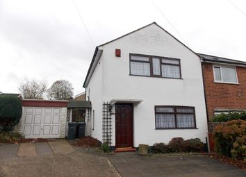 Thumbnail 3 bed semi-detached house to rent in Manor Road, Stechford, Birmingham