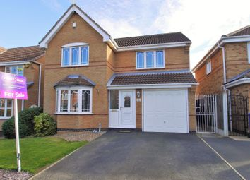 Thumbnail 4 bed detached house for sale in Kestrel Drive, Adwick-Le-Street, Doncaster
