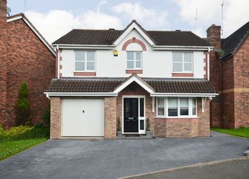 Thumbnail 4 bed detached house for sale in Durham Drive, Lightwood