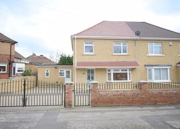 Thumbnail 3 bed semi-detached house for sale in Fields Road, Oakfield, Cwmbran