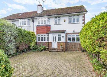 Thumbnail 5 bed semi-detached house for sale in Staines-Upon-Thames, Surrey
