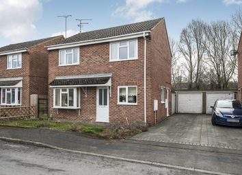 Thumbnail 3 bed detached house for sale in Springhill Close, Westlea, Swindon