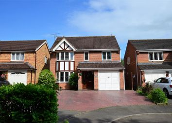 Thumbnail 4 bed detached house for sale in Pulborough Gardens, Heatherton, Derby
