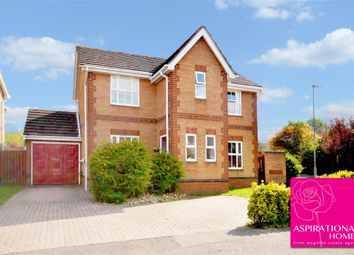 Thumbnail 3 bed detached house for sale in Courtman Road, Stanwick, Wellingborough, Northamptonshire