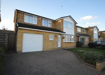 Thumbnail 4 bed detached house for sale in Byron Close, Stevenage