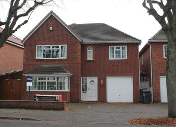 Thumbnail 5 bed detached house for sale in Gibson Road, Handsworth, Birmingham