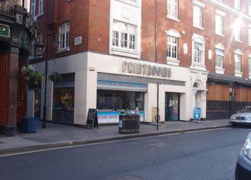 Thumbnail Retail premises to let in Wardour Street, London