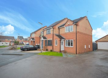 Thumbnail 2 bed semi-detached house for sale in Merlin Close, Morley