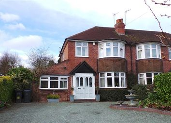 Thumbnail 3 bed semi-detached house for sale in Chester Road North, Streetly, Sutton Coldfield