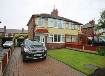 Thumbnail 3 bed semi-detached house for sale in Rossall Road, Great Sankey, Warrington