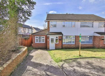 Thumbnail 3 bed semi-detached house for sale in Lon Y Ffin, St Fagans, Cardiff