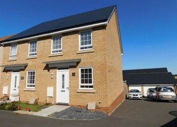Thumbnail 2 bed semi-detached house for sale in Somerville Close, Yeovil