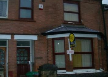 Thumbnail 6 bed terraced house to rent in Balfour Road, Nottingham