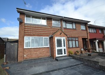 Thumbnail 3 bed end terrace house to rent in Fox Close, Collier Row, Romford