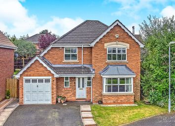 Thumbnail 4 bed detached house for sale in Badger Brook Lane, Astwood Bank, Redditch