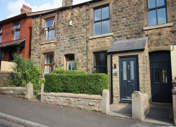 Thumbnail 3 bed terraced house to rent in Newshaw Lane, Hadfield, Glossop
