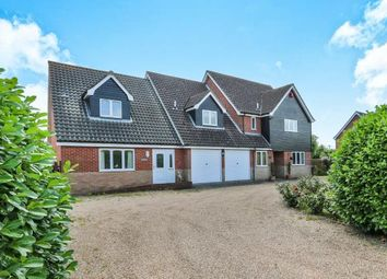 Thumbnail 6 bed detached house for sale in Besthorpe, Attleborough, Norfolk