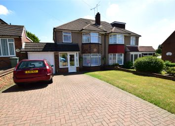 Thumbnail 3 bed semi-detached house for sale in Beechenlea Lane, Swanley, Kent