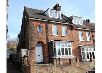Thumbnail 5 bed semi-detached house for sale in Goddington Road, Strood