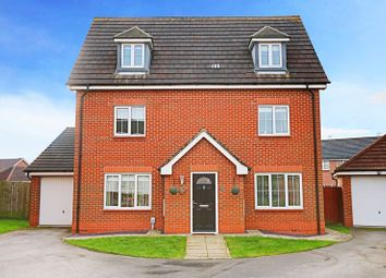 Thumbnail 5 bed detached house for sale in Langthwaite Close, Brough