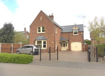 Thumbnail 4 bed detached house to rent in Church Lane, Crowland, Peterborough