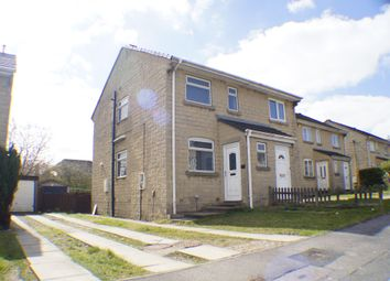 Thumbnail 2 bedroom semi-detached house to rent in Hill Brow Close, Allerton, Bradford