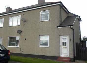 Thumbnail 1 bed flat to rent in Northcott Gardens, Seghill, Cramlington