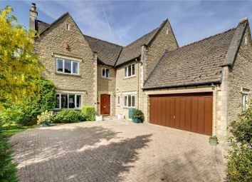 Thumbnail 5 bed detached house for sale in Oaklands, Somerford Road, Cirencester, Gloucestershire